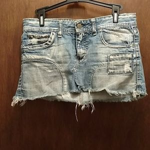 Vintage Distressed Jean Mini